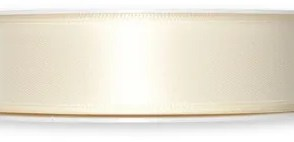 Nastro doppio sateen Avorio 25mm