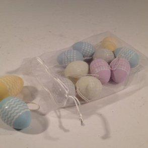 Sacchetto uova plastica da appendere