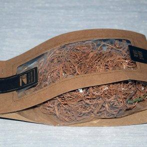 Confezione riccioli muschio naturale