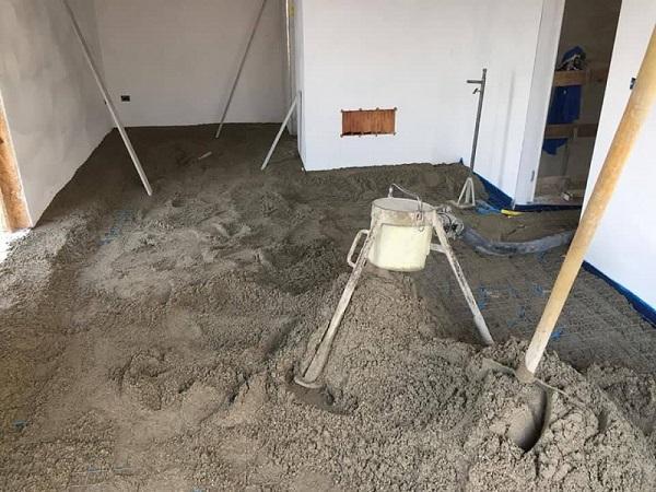 Il Massetto Su Impianto Di Riscaldamento A Pavimento O
