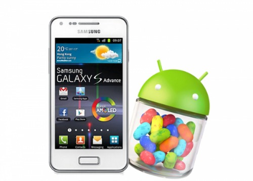 Samsung Galaxy S Advance e Android 4.1.2 Jelly Bean: Commenti