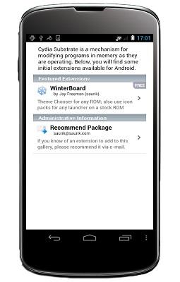 Cydia per Android disponibile al download