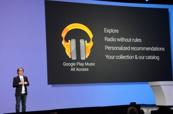 Google Play Music All Access: Nuovo servizio contro Spotify