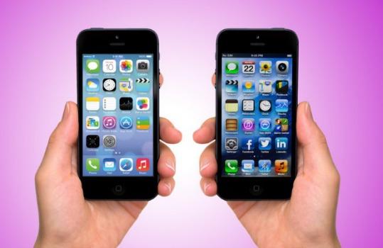 Differenze e confronto: iOS 7 vs iOS 6.1.3