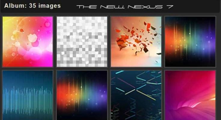 Download sfondi ufficiali Nuovo Nexus 7