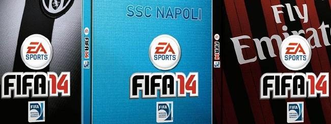 FIFA 14: Steelbox di Juve, Napoli, Milan, Inter e Roma