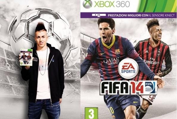 FIFA 14: Copertina italiana con El Sharaawy