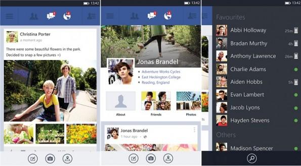 Facebook 5.0 per Windows Phone: Novità