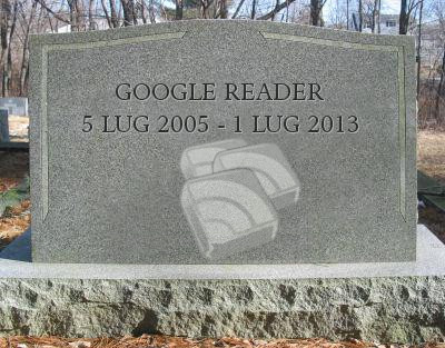 Google Reader: Esportare feed