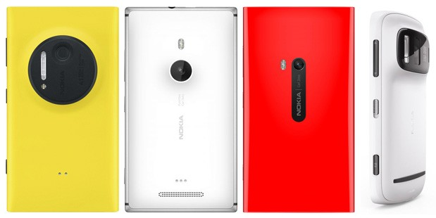 Nokia Lumia 1020, 925, 920 e 808 PureView: Differenze e caratteristiche