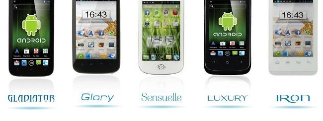 Brondi: Nuovi smartphone Android economici