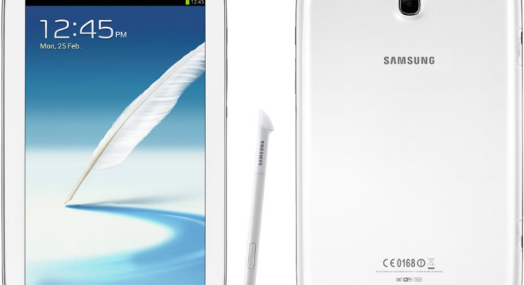 Samsung Galaxy Note 8.0 Wi-Fi con Android 4.2.2: Primo firmware leaked