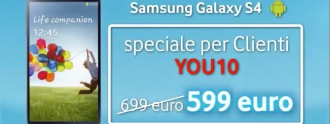 Vodafone You: Sconto smartphone a luglio