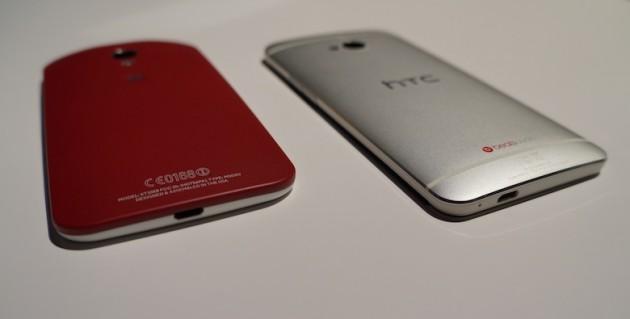Motorola Moto X vs HTC One Google Edition: Video confronto