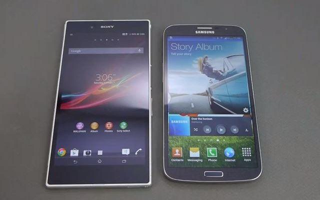 Confronto tra Samsung Galaxy Mega 6.3 e Sony Xperia Z Ultra