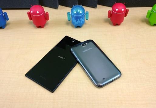 Video confronto tra Sony Xperia Z Ultra e Samsung Galaxy Note 2