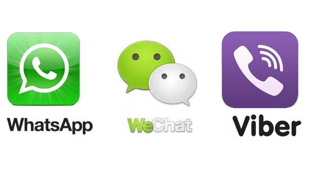 Migliore tra Whatsapp, WeChat e Viber: Il confronto