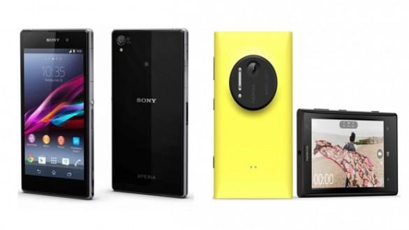 Confronto tra Nokia Lumia 1020 e Sony Xperia Z1