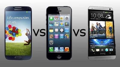 Differenze tra iPhone 5S, Lumia 1020 e Samsung Galaxy S4