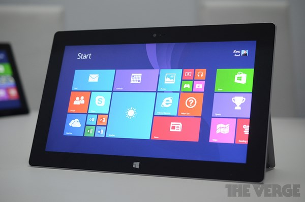 Microsoft Surface 2: Caratteristiche tecniche ufficiali e prezzo