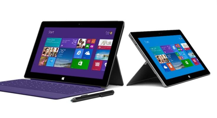 Microsoft Surface 2 e Surface Pro 2: Video promozionali