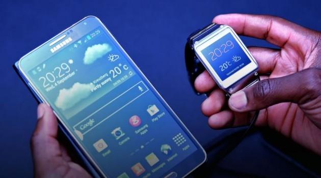 Samsung Galaxy Gear e Galaxy Note 3: Prezzi in UK