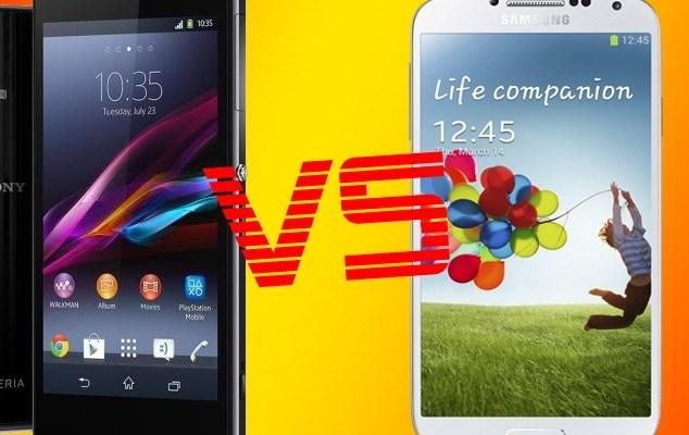 Sony Xperia Z1 e Samsung Galaxy S4: Qual è il migliore
