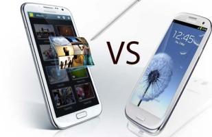 Video confronto tra Samsung Galaxy Note 3 e Galaxy S4
