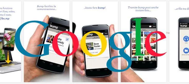 Google acquista Bump