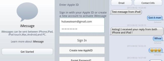 iMessage per Android e il rischio per la sicurezza