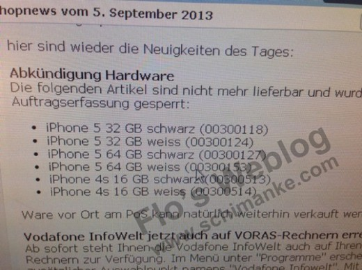 iPhone 5 sarà venduto solo in versione 16 GB