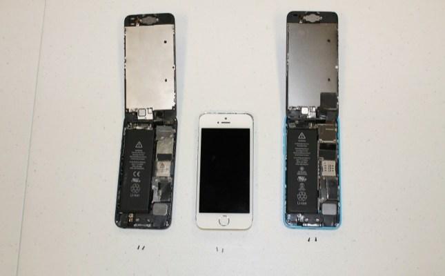 iPhone 5S e iPhone 5C smontati da iExperts (teardown)