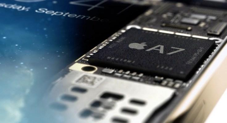 iPhone 5S e il nuovo chip A7