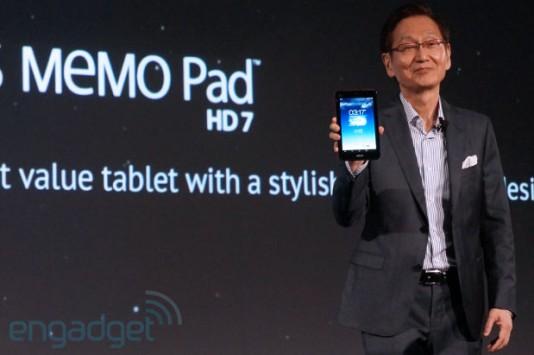 ASUS MeMo Pad HD 7 ottiene Android 4.2.2
