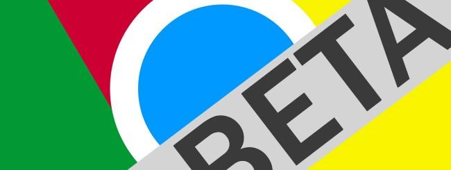 Chrome Beta su Android: Novità aggiornamento