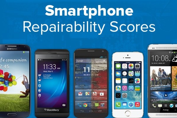 Classifica riparabilità smartphone iFixit