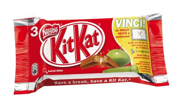 Concorso KitKat Nexus 7 2013 in Italia