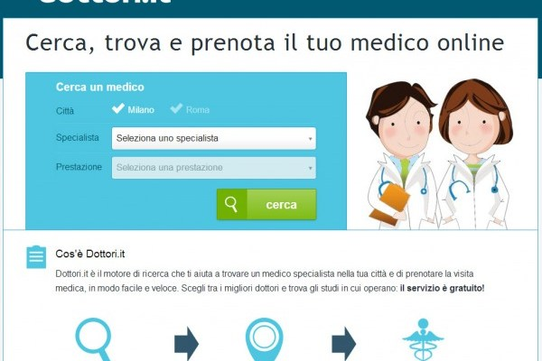 Dottori.it: Cercare uno specialista on-line