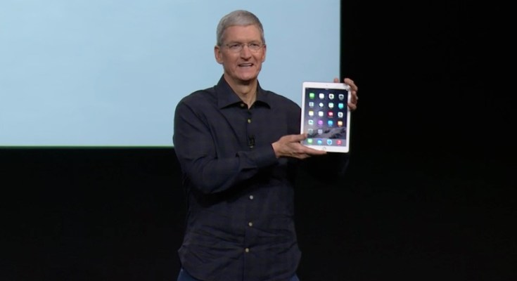 iPad Air 2 ufficiale