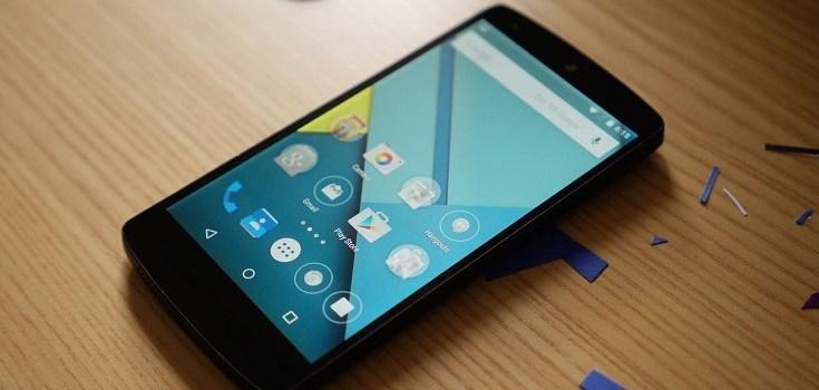 Nexus 5 aggiornamento Android Lollipop