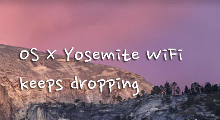 OS X Yosemite wifi