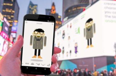Google Times Square