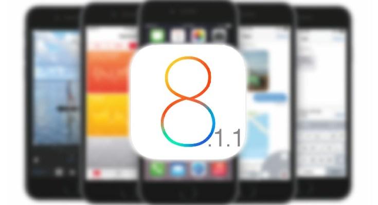 iOS 8.1.1 firme sistema