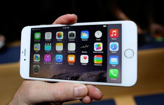 iPhone 6 plus memoria