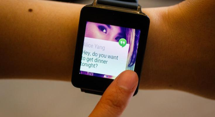 Android Lollipop LG G Watch