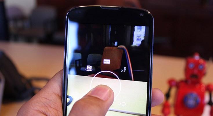Fotocamera Nexus 4 android lollipop