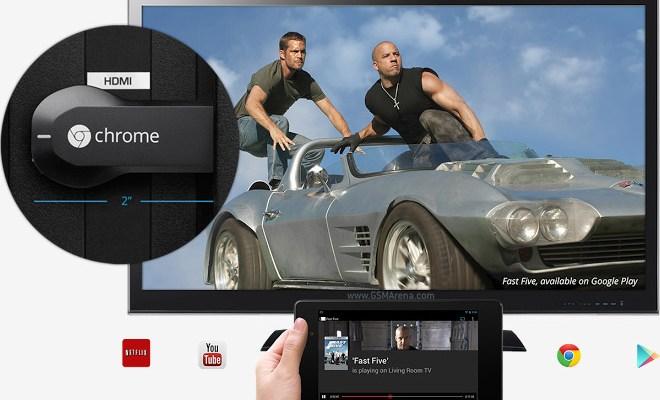 Google Chromecast app