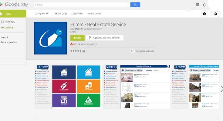 Google Play Store grafica