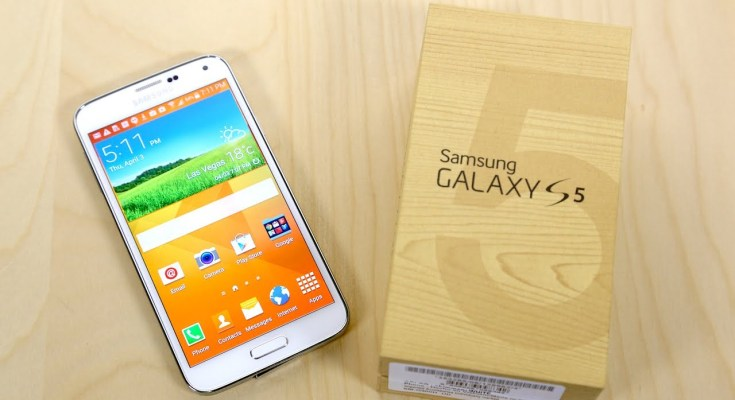 Samsung Galaxy s5 Android Lollipop