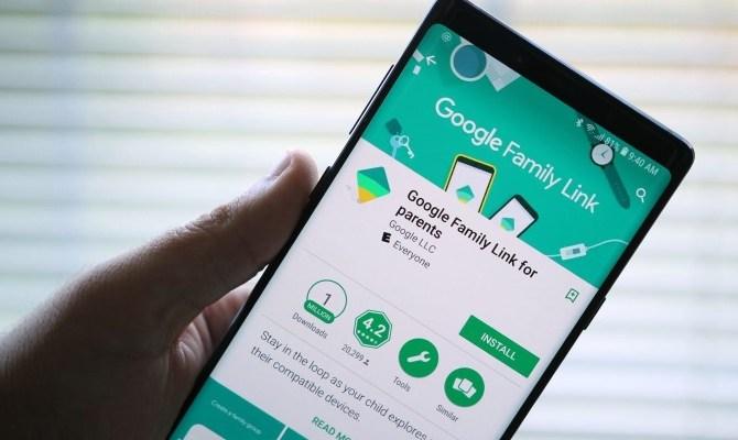 google family link smartphone